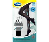 Bekleidung Strumpfhosen Light Legs 60 Den Schwarz Strumpfhose mit Kompressionsfunktion Größe L