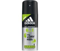 Pflege Functional Male 6 in1 Cool & Dry 48 h Deodorant Spray