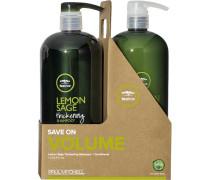 Haarpflege Tea Tree Lemon Sage Save Big On Duo Thickening Shampoo 1000 ml + Conditioner 1000 ml