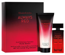 Always Red Geschenkset Eau de Toilette Spray 30 ml + Body Lotion 100 ml