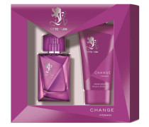 Damendüfte Change Woman Geschenkset Eau de Toilette Spray 30 ml + Cream Shower 75 ml