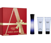Damendüfte Code Femme Geschenkset Eau de Parfum Spray 50 ml + Shower Gel 75 ml + Body Lotion 75 ml