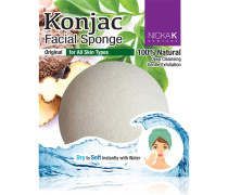 Make-up Accessoires Konjac Facial Sponge Charcoal