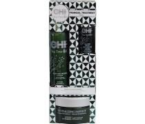 Haarpflege Tea Tree Oil Tranquil Treatment Trio Blow Dry Primer Lotion 177 ml + Oil Serum 59 ml + Revitalizing Masque 237 ml