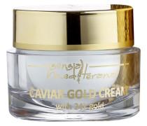 Prestige Spa - Anti-Aging Pflege Tages- und Nachtcreme mit Caviarextrakt & 24-Karat-Goldblättchen Caviar Gold Cream