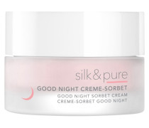 Pflege Silk & Pure Good Night Creme-Sorbet