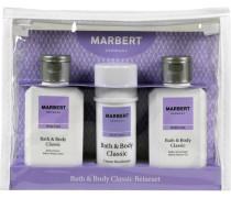 Pflege Bath & Body Classic Reiseset Bath & Shower Gel 100 ml + Cream Deodorant 40 ml + Allover Body Lotion 100 ml