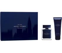 Herrendüfte for him Bleu Noir Geschenkset Eau de Toilette Spray 50 ml + Shower Gel 75 ml