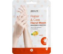 Pflege Körperpflege Repair & Care Hand Mask Tangerine 1 Paar