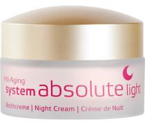 Gesichtspflege SYSTEM ABSOLUTE Anti-Aging Nachtcreme Light