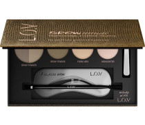 Make-up Augenbrauen Browttitude Professional Eyebrow Palette Nr. 510 Brunette Perfection
