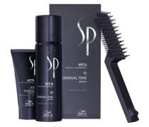 SP Men Natural Shade Gradual Tone Gradual Tone schwarz 60 ml & Sensitive Shampoo 30 ml
