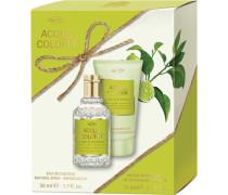 Unisexdüfte Lime & Nutmeg Geschenkset Eau de Cologne Spray 50 ml + Aroma Shower Gel 75 ml
