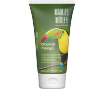 Beauty Haircare Two in One Tropical Mango Shampoo & Conditioner