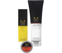 Haarpflege Mitch High Octane Grooming Kit Heavy Hitter Deep Cleansing Shampoo 250 ml + Construction Paste Mesh Styler 75 ml + Reformer Texturizer 10 g