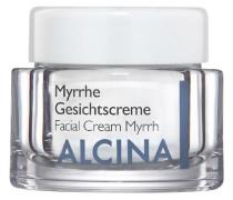 Kosmetik Trockene Haut Myrrhe Gesichtscreme
