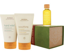 Body Feuchtigkeit Beautifying Body Set Hand Relief Moisturizing Creme 125 ml + Beautifying Body Cleanser 125 ml + Beautifying Composition Oil 30 ml