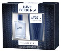 Herrendüfte Classic Blue Geschenkset Eau de Toilette Spray 40 ml + Shower Gel 200 ml