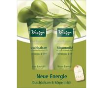 Pflege Duschpflege Geschenkset Neue Energie Körpermilch Zitronengras & Olive 200 ml + Duschbalsam Zitronengras & Olive 200 ml