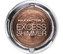 Make-Up Augen Excess Shimmer Eyeshadow Nr. 30 Onyx