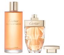 La Panthère Geschenkset Eau de Parfum Spray 25 ml (Taschenzerstäuber) + Eau de Parfum Refill 75 ml