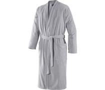 Herren Kimono Silber Größe 46/48; Länge 125 cm