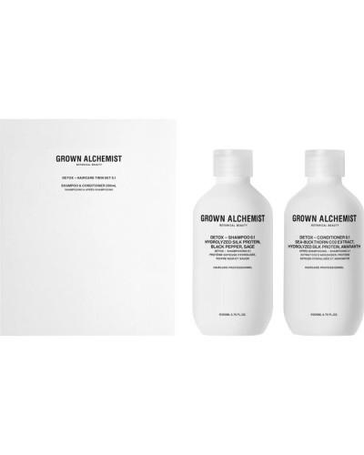 Shampoo Detox Hair Care Twin Set 0.1
