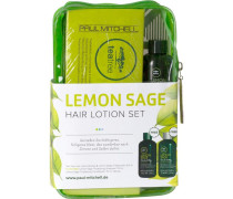 Haarpflege Tea Tree Lemon Sage Tea Tree Lemon Sage Set Volumen Behandlung 12 x 6 ml + Lemon Sage Thickening Shampoo 75 ml + Lemon Sage Thickening Conditioner 75 ml