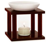 Home & Duftgeräte Duftlampe Olymp Keramik Holz - B:12 x T:12 H:14;3 cm