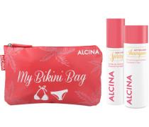 Haarpflege Sonne Sommer Haarpflege Set After-Sun Shampoo 200 ml + Sun Care Spray 100 ml + Bikini Bag