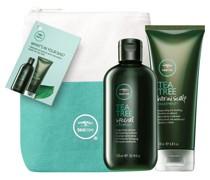 Tea Tree Special Geschenkset Shampoo 300 ml + Hair And Scalp Treatment 200 Leinentasche