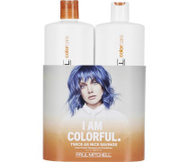 Haarpflege Color Care Save On Duo Set Color Protect Daily Shampoo 1000 ml + Daily Conditioner 1000 ml