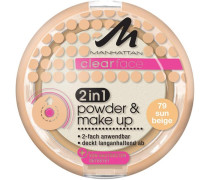 Make-up Gesicht Clearface 2in1 Powder & Make Up Nr. 77