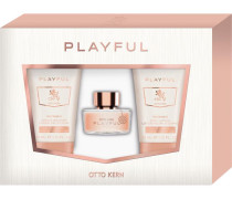 Damendüfte Playful Geschenkset Eau de Toilette Spray 30 ml + Cream Shower 75 ml + Body Lotion 75 ml