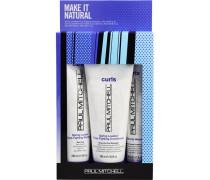 Haarpflege Curls Make it Natural - Curls Set Shampoo 250 ml + Conditioner 200 ml + Ultimate Wave 150 ml