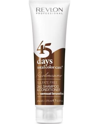 Haarpflege Revlonissimo 45 Days Shampoo & Conditioner Sensual Brunettes
