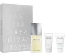 Herrendüfte L'Eau d'Issey pour Homme Geschenkset Eau de Toilette Spray 75 ml + Shower Gel 50 ml + After Shave Balm 50 ml