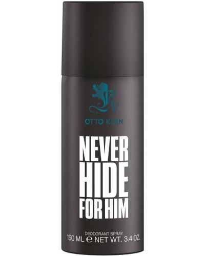 Never Hide For Him Deodorant Spray