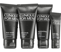 Herrenpflege Herrenpflege Essential Kit Face Scrub 40 ml + Face Wash 50 ml + Moisturizing Lotion 40 ml + Anti-Age Eye Cream 15 ml