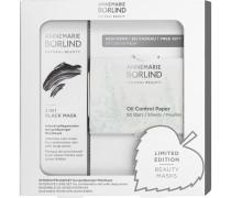 Gesichtspflege Beauty Masks Geschenkset 2 in 1 Black Mask 75 ml + Oil Control Paper 50 Blatt