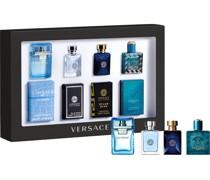 Herrendüfte Pour Homme Miniaturen Set Eros Eau de Toilette 5 ml + Dylan Blue Eau de Toilette 5 ml + Pour Homme Eau de Toilette 5 ml + Man Eau Fraîche Eau de Toilette 5 ml