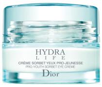 Hautpflege Feuchtigkeit und Schutz Hydra Life Crème-Sorbet Yeux