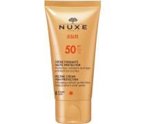 Gesichtspflege Sonnenpflege und Selbstbräuner sunMelting Cream High Protection SPF 50