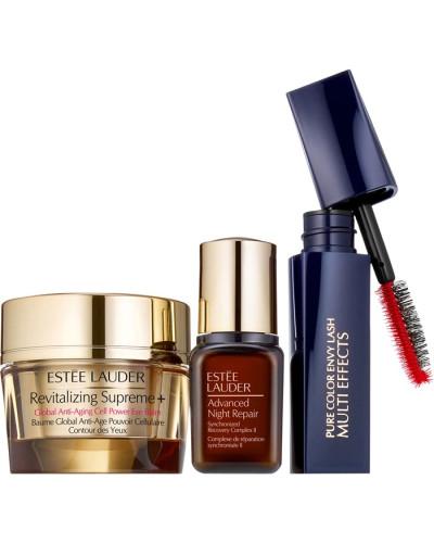 Pflege Augenpflege Supreme + Eye Balm Set Supreme+ 15 ml Advanced Night Repair 7 Lash Envy Mascara Mano Nr. 01 Black 2;8