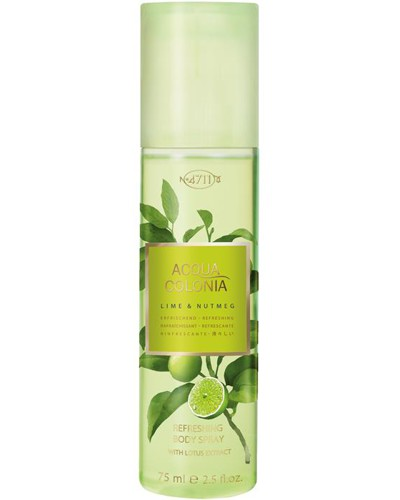 Unisexdüfte Lime & Nutmeg Body Spray