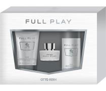 Herrendüfte Full Play Geschenkset Eau de Toilette Spray 30 ml + Body & Hair Shampoo 75 ml + Deoorant Spray 50 ml