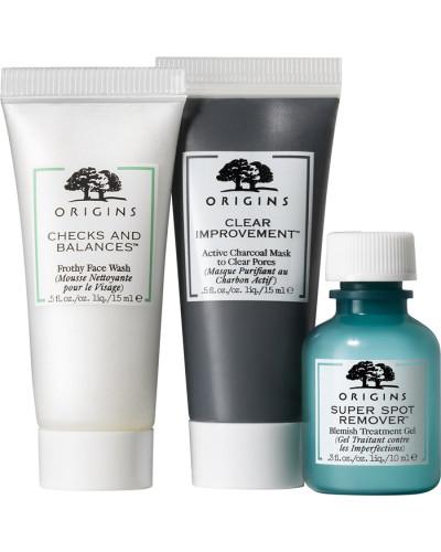 Reinigung & Peeling Cleansing; Detoxifying Spot-Fighting Trio Detox Set
