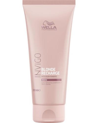 Invigo Color Recharge Blond Refreshing Conditioner Warm Blonde