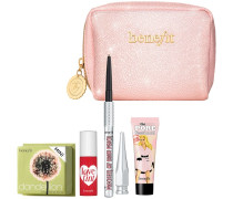 Loves Make-up Set Brows & New Beginnings! The POREfessional: Pearl Primer I mini + Precisely; My Brow Pencil in shade 3 Dandelion Lovetint fun-size Collectible makeup bag