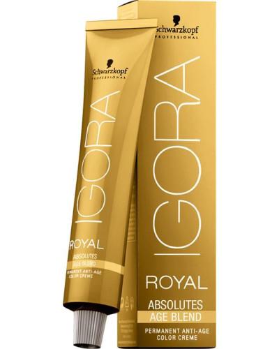 Haarfarben Igora Royal Absolutes Age Blend Permanent Anti-Age Color Creme 9-560 Extra Hellblond Gold Schoko